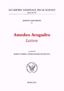 Amedeo Avogadro.Lettere